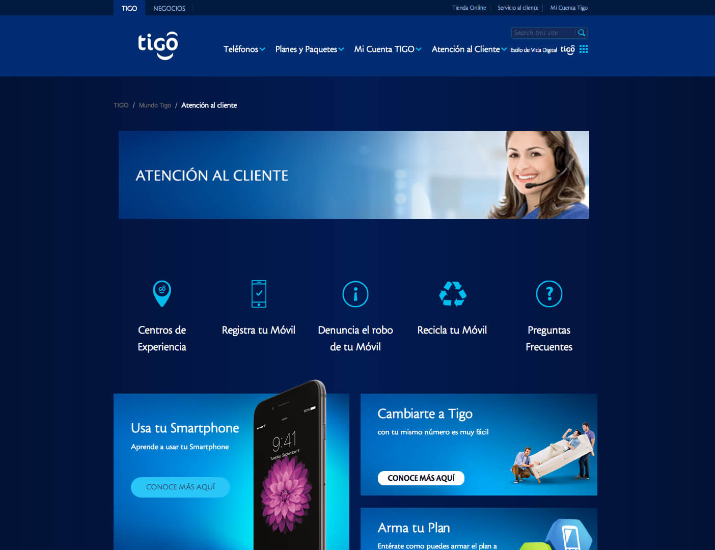 Tigo Customerservice