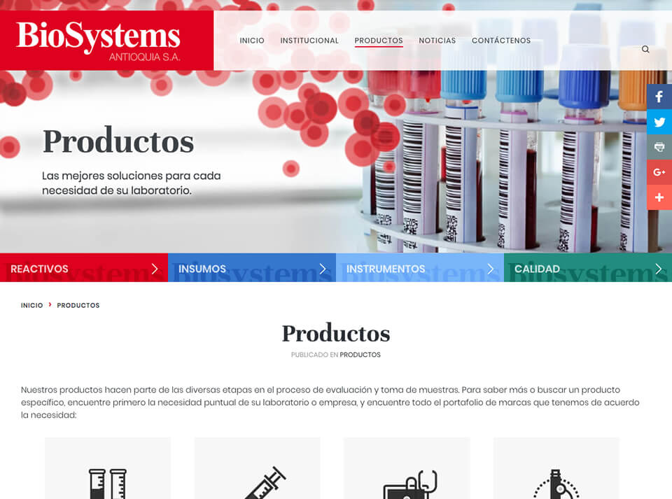 Biosystems Products