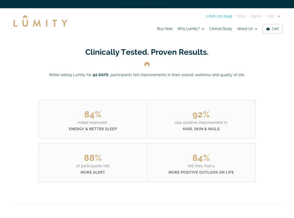 Lumity Newsite Clinical
