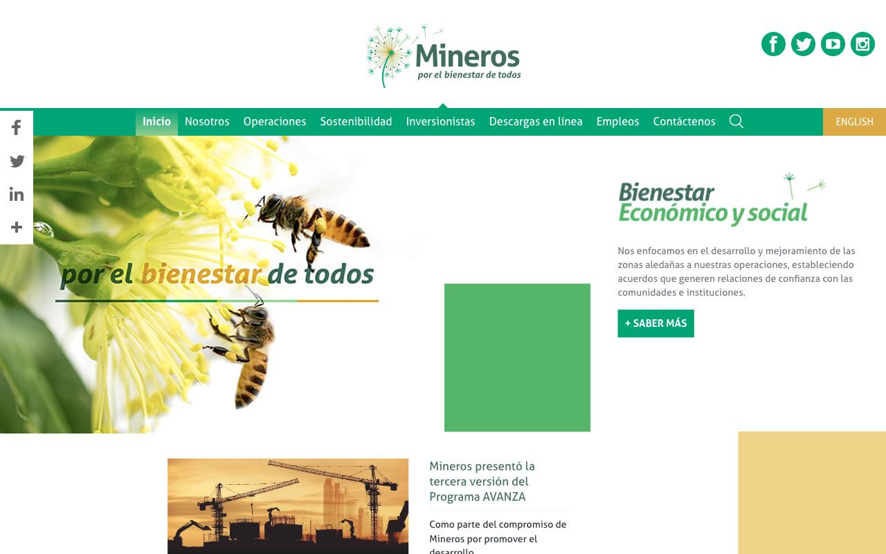 Mineros Rebranding