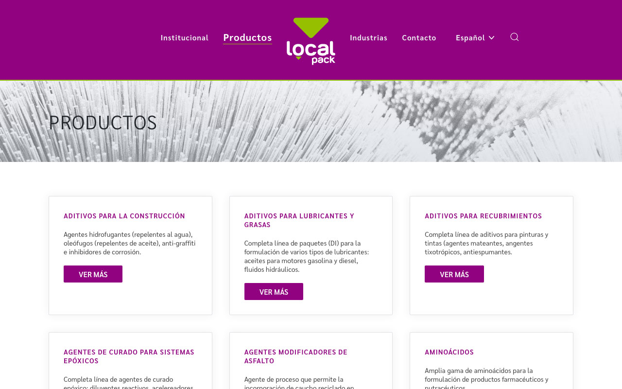 Localpack Products